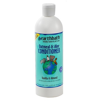 EarthBath Oatmeal and Aloe Conditioner for Dogs & Cats