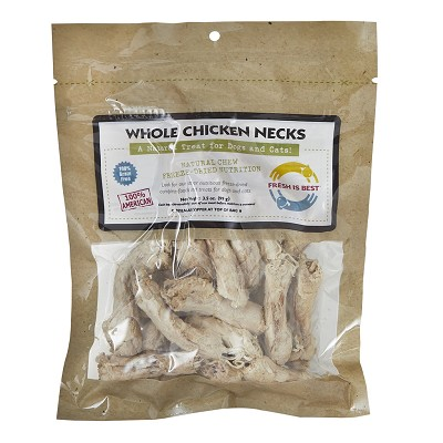Fresh is Best Freeze-Dried Chicken Necks for Dogs
