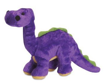 Go Dog Dinos Mini Bruto the Brontosaurus Dog Toy