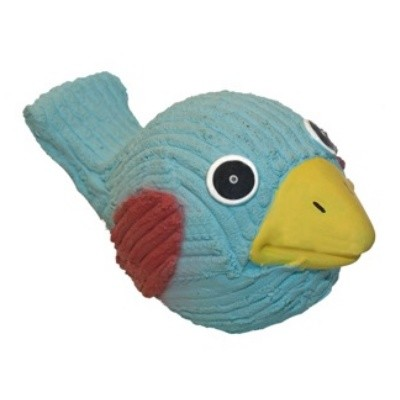 Hugglehounds Ruff-Tex Bluebird Dog Toy, Mini