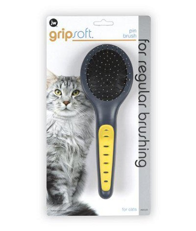 JW Pet Cat Soft Pin Brush
