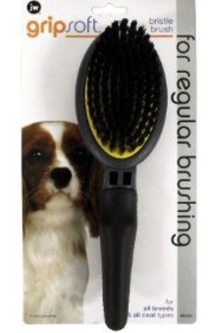 JW Pet Bristle Dog Brush