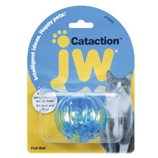 JW Pet Fish Ball Cat Toy