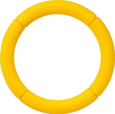 JW Pet Single Ring Invincible Chains Dog Toy, Large