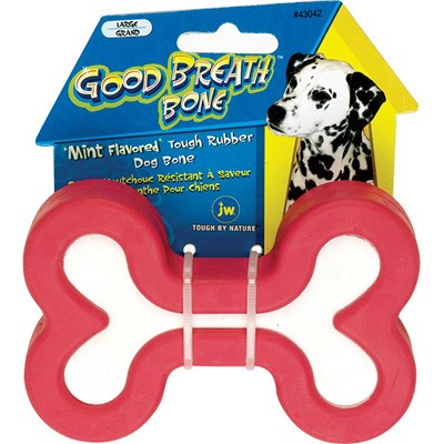 JW Pet Good Breath Bone  Dog Toy, Small