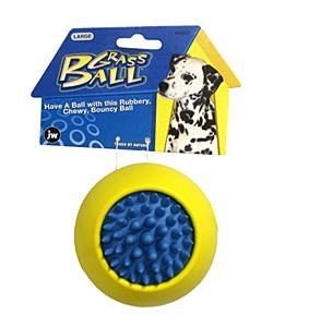 JW Pet Grass Ball Dog Toy Dog Toy, Medium