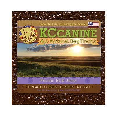 KC Canine Prairie Elk Soft  Jerky Training Dog Treats