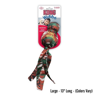 KONG Camo Wubba Dog Toy, Large