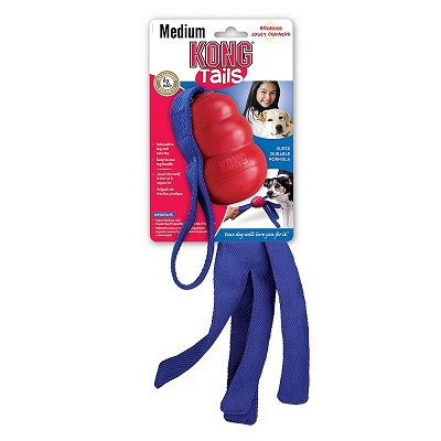 KONG Classic Tails Dog Toy, Medium