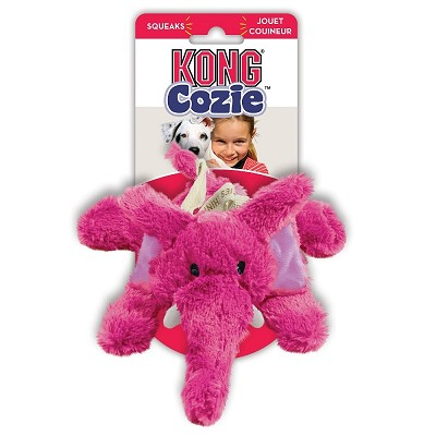 KONG Cozie Elmer the Elephant Dog Toy