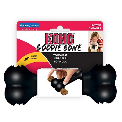 KONG Extreme Goodie Bone Dog Toy, Medium