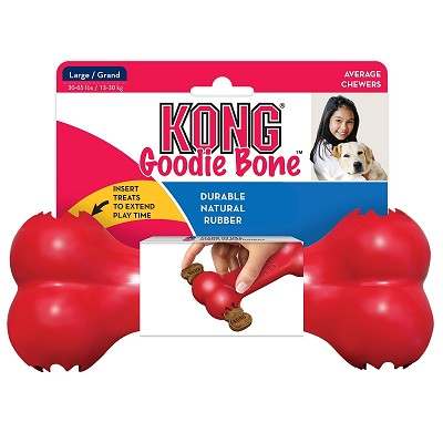 KONG Goodie Bone Dog Toy, Large