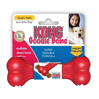 KONG Goodie Bone Dog Toy, Small