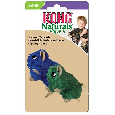KONG Naturals Mice Cat Toy