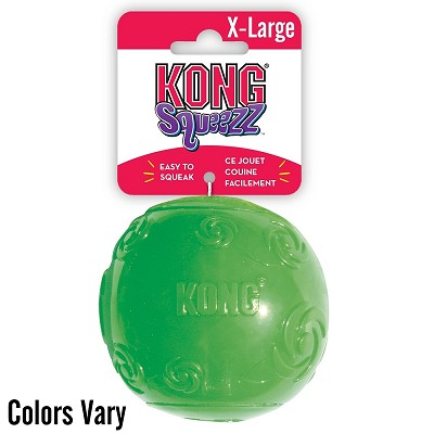 KONG Squeezz Ball Dog Toy, X-Large