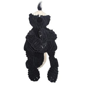 Discontinued, HuggleHounds Knotties Skunk Dog Toy, Large