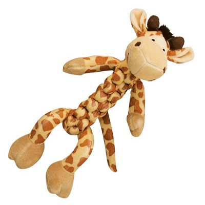 Kong Braidz Giraffe Dog Toy, Small
