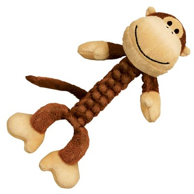 Discontinued, Kong Braidz Monkey Dog Toy, Large