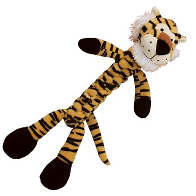 Discontinued, Kong Braidz Tiger Dog Toy, Small