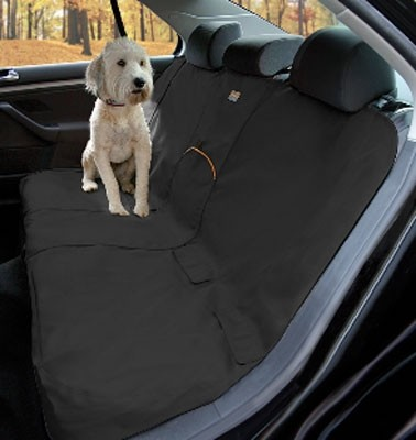 Kurgo Bench Seat Cover for Dogs, Black