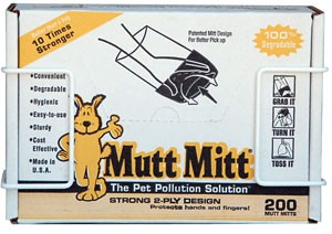 Mutt Mitt Poop Pick Up Bags, 200 Count