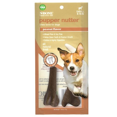 N-Bone USA Pupper Nutter Dog Treat, Small 2-Pack