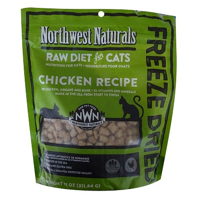 Northwest Naturals Chicken Recipe Freeze-Dried Cat Food