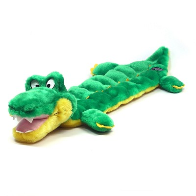 Outward Hound Squeaker Mat Long Body Gator Dog Toy, Large