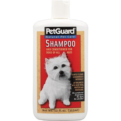 Pet Guard Dog Shampoo and Conditioner
