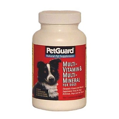 Pet Guard Multi-Vitamin and Minerals Dog Supplement