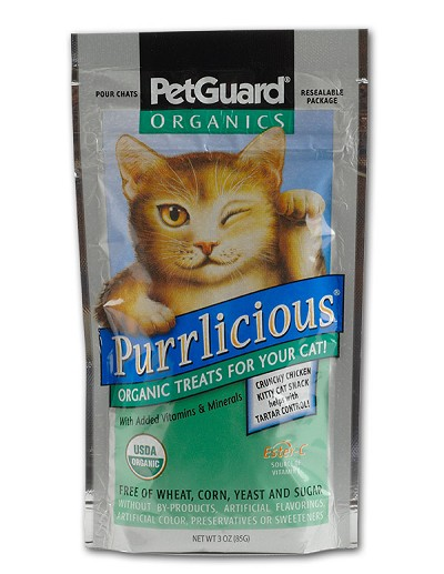 Pet Guard Purrlicious Organic Cat Treats