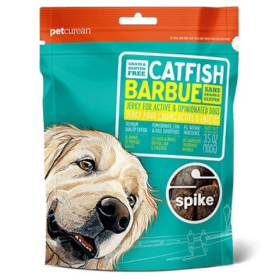 Petcurean Spike Catfish Grain-Free Jerky Dog Treats
