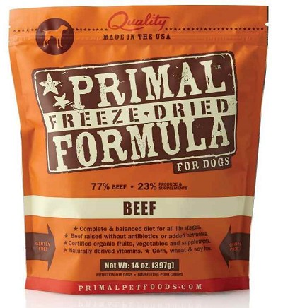 Primal Beef Formula Nuggets Freeze-Dried Dog Food, 14-oz bag