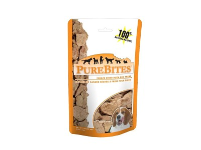 PureBites Duck Freeze-Dried Dog Treats, 2.6 Ounces