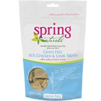 Spring Naturals Grain Free 95% Chicken and Lamb with Fruits & Berries Dog Treats