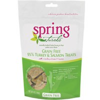 Spring Naturals Grain Free 95% Turkey and Salmon with Fruits & Berries Dog Treats