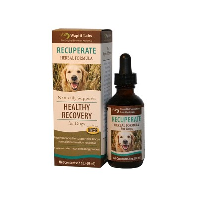 Wapiti Labs Recuperate Herbal Formula Dog Supplement