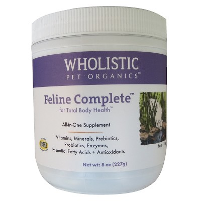 Wholistic Pet Organics Feline Complete Cat Supplement
