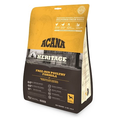 ACANA Heritage Free Run Poultry Formula Grain Free Dry Dog Food, 12-oz Bag