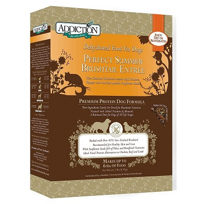 Discontinued, Addiction Grain-Free Perfect Summer Brushtail Raw Dehydrated Dog Food