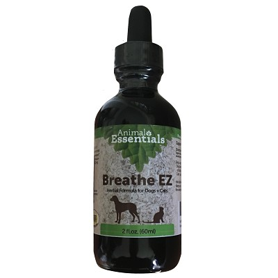 Animal Essentials Breath EZ Respiratory Supplement for Dogs & Cats, 2-oz