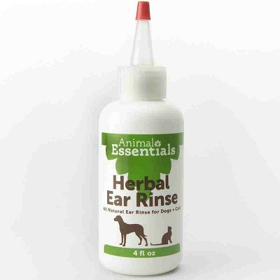 Animal Essentials Herbal Ear Rinse for Dogs & Cats