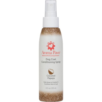 Aroma Paws Coconut Papaya Deodorizing & Conditioning Dog Coat Spray