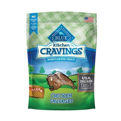 Blue Buffalo Kitchen Cravings Chicken Sausages Dog Treats