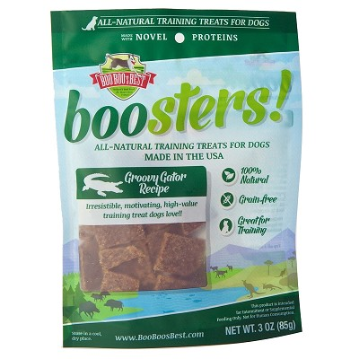 Boo Boo's Best Groovy Gator Recipe Dehydrated Training Treats for Dogs