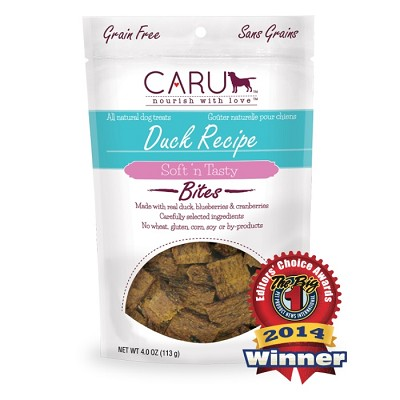 Caru Soft 'n Tasty Duck Recipe Bites Dog Treats