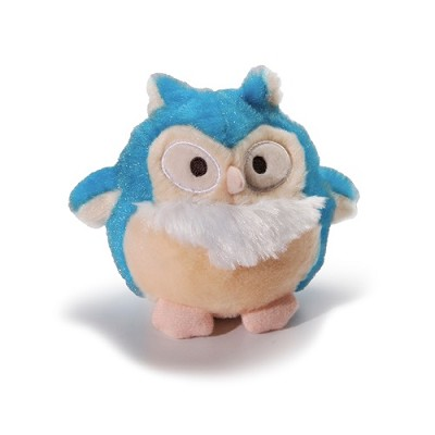 Charming Pet Barkers Howling Hooters Blue Owl Dog Toy