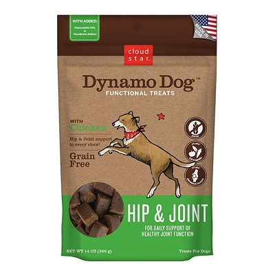 Cloud Star Dynamo Dog Hip & Joint with Chicken Dog Treats