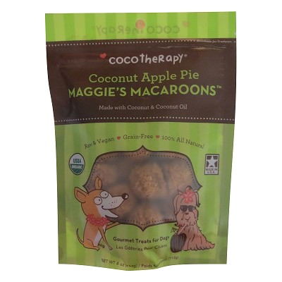 Cocotherapy Maggies Macroons Coconut Apple Pie Dog Treats