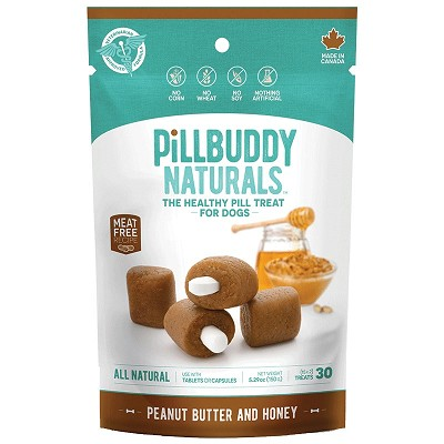 Presidio Naturals Pill Buddy Peanut Butter & Honey Recipe Dog Treats